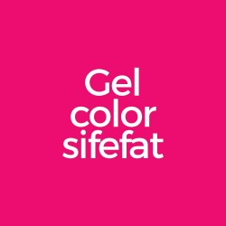 Gel color sifefat